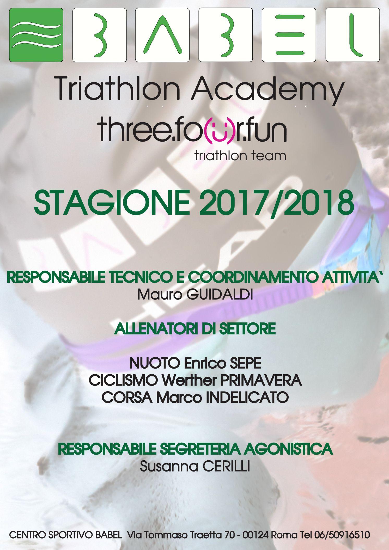 TRIATHLON AGO 2017 2018